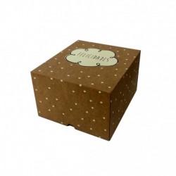 Cajas Cartón Decoradas 20x18x12 Felicidades