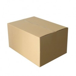 Cajas Cartón 33x28x16 Marrón