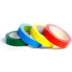 Cinta Adhesiva PVC Color 66mx12mm