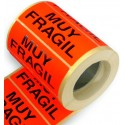 "Etiqueta ""Muy Frágil"""